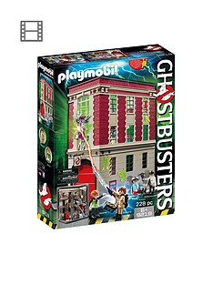 Playmobil Ghostbusters Firehouse 9219 af9b86590ebfe