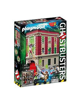 PLAYMOBIL Playmobil Ghostbusters Firehouse 9219 Picture