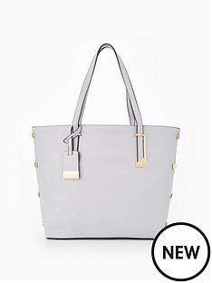 miss-selfridge-stud-side-lilac-tote-bag