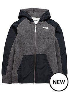 converse-converse-older-boy-knittedwoven-full-zip-hoody