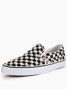 vans-vans-peanuts-snoopy-checkerboard-ua-classic-slip-on