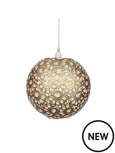 champagne-metal-work-ball-easy-fit-pendant