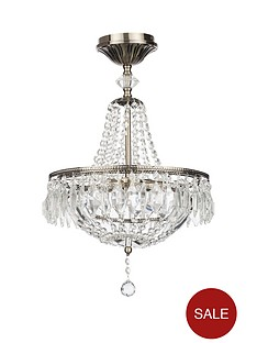 antique-crystal-3-light-chandelier-ceiling-light