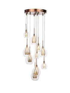 10-light-copper-cluster-ceiling-light