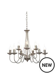elegant-9-light-chrome-amp-crystal-chandalier-ceiling-pendant