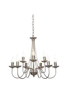 elegant-9-light-chrome-amp-crystal-chandelier-ceiling-pendant