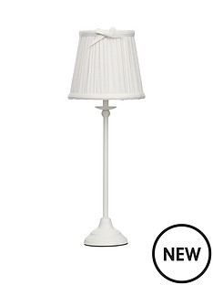 ruffle-pleated-white-shade-table-lamp