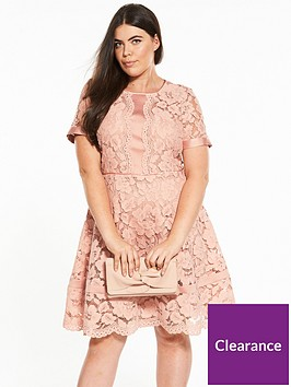 v-by-very-curve-lace-panel-short-sleeve-shift-dress