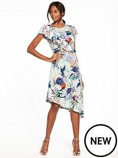 v-by-very-asymmetric-ruffle-printed-midi-dress