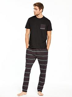 v-by-very-jersey-t-shirt-amp-fairisle-printed-bottoms