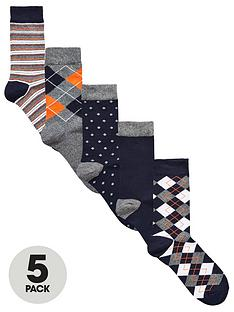 v-by-very-5-pk-multi-pattern-socks-multi