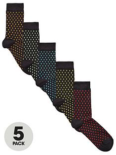 v-by-very-5-pk-plated-dash-socks-multi