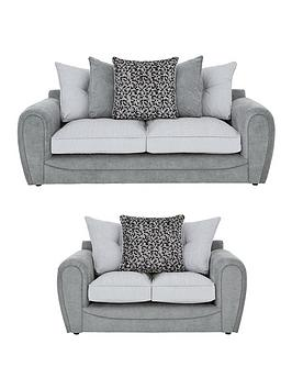 Very Mosaic 3-Seater + 2-Seater Fabric Sofa Set (Buy And Save!) Picture