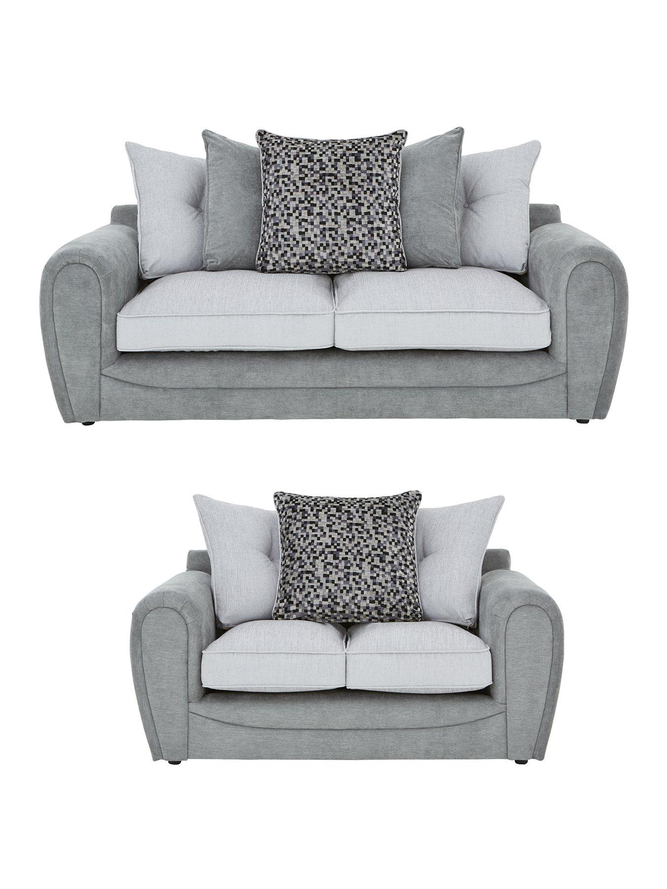 mosaic 3seater 2seater fabric sofa set buy and save