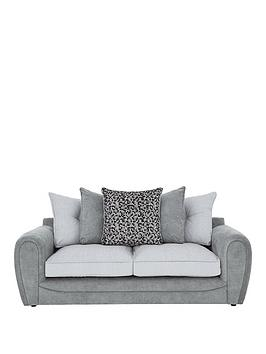 Very Mosaic Fabric 3-Seater Sofa Picture