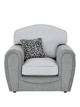 Very Mosaic Fabric Armchair Picture