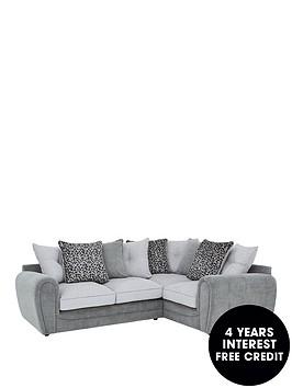 mosaic-fabric-right-hand-double-arm-corner-group-sofa