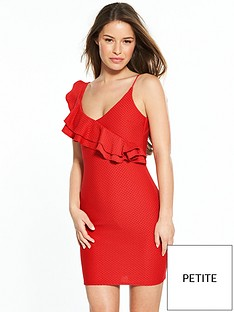 ri-petite-red-frill-dress