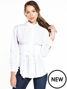 river-island-corset-shirt