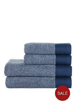 ideal-home-blue-marl-550gsm-4-piece-towel-bale