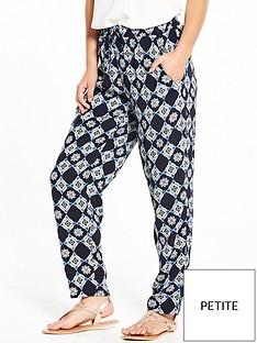wallis-wallis-petite-tile-border-trouser
