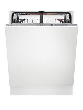 Aeg Fss62600P Integrated 13Place Dishwasher