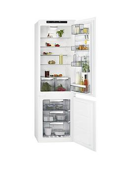 Aeg Sce81824Ts 55Cm Integrated Frost Free Fridge Freezer
