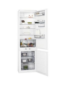 Aeg Sce81911Ts 55Cm Integrated Frost Free Fridge Freezer