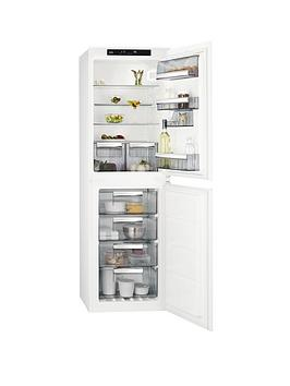 Aeg Sce81812Ns 55Cm Integrated Frost Free Fridge Freezer