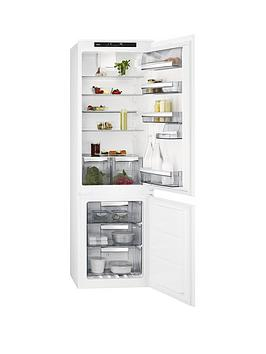 Aeg Sce81816Ts 55Cm Integrated Frost Free Fridge Freezer