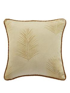 myleene-klass-gold-palm-cushion