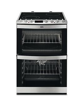 Aeg 47102VMn 60Cm Electric Double Oven