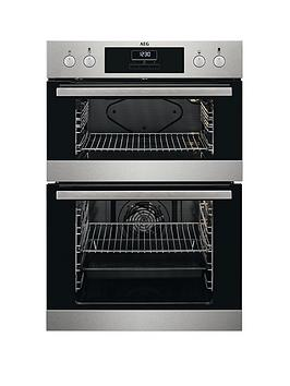 Aeg Deb331010M 60Cm Electric BuiltIn Double Oven