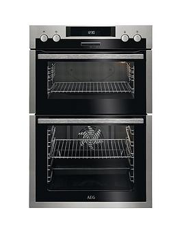 Aeg Dcs431110M 60Cm Electric BuiltIn Double Oven