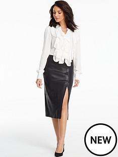 michelle-keegan-pom-pom-trim-ruffle-front-blouse-ivory