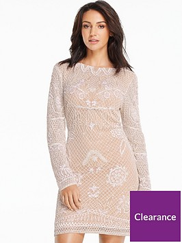 michelle-keegan-embellished-mini-dress