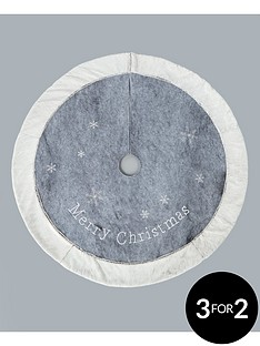 grey-faux-fur-christmas-tree-skirt