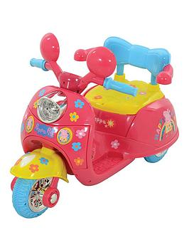 Peppa Pig Peppa Pig 6V Battery Operated Trike Picture