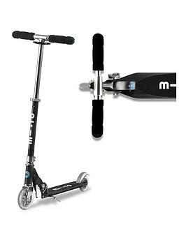Micro Scooter Micro Scooter Micro Sprite &Ndash; Black Picture