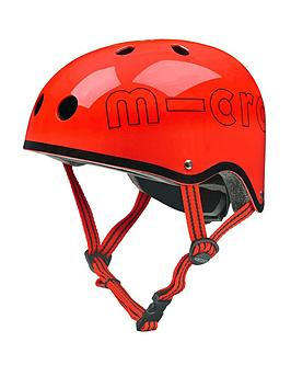 micro-scooter-helmet-red-gloss