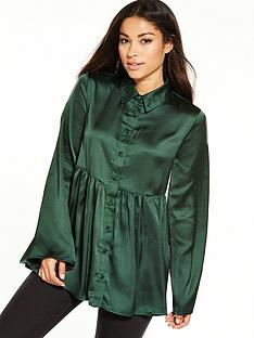 lost-ink-smock-satin-shirt