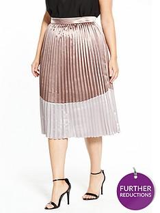 lost-ink-plus-lost-ink-plus-metallic-pleated-skirt