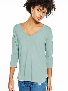v-by-very-v-neck-oversized-t-shirt-duck-egg-blue