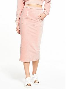 lost-ink-bib-pocket-jumbo-rib-pencil-skirt-pink