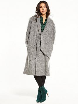 lost-ink-coatigan-tie-coat-grey-marl