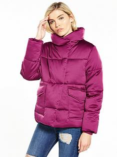 lost-ink-satin-padded-jacket-bright-pink