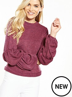 lost-ink-lost-ink-puff-sleeve-camps-jumper