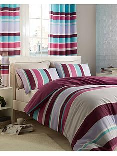 catherine-lansfield-textured-stripe-duvet-cover-set-purple