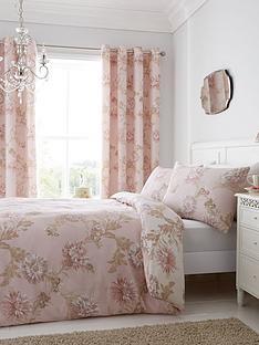 catherine-lansfield-chrysanthemum-cotton-rich-duvet-cover-set