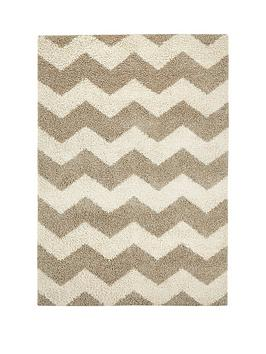 Very Shaggy Chevron Rug Picture